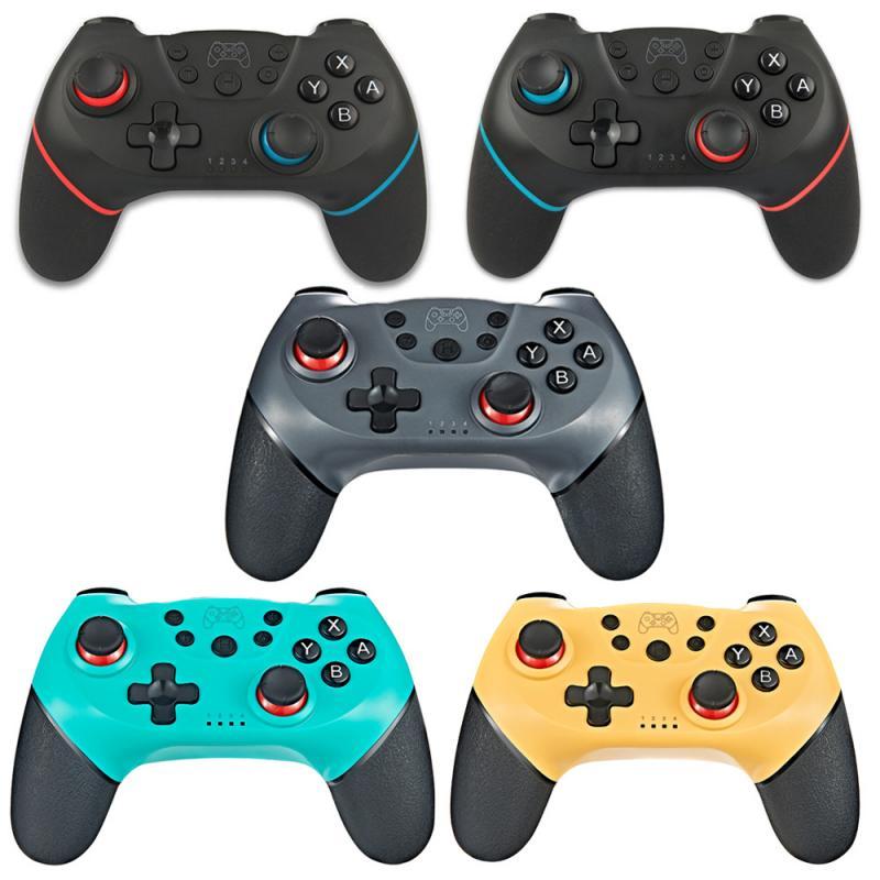 NS interruptor Gamepad inalámbrico Bluetooth juego Joysticks controlador NS interruptor de 6 ejes con consola de palanca
