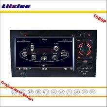 Liislee For Audi A6 1997 ~ 2004 차량용 스테레오 라디오 CD DVD 플레이어 GPS navi지도 내비게이션 1080P HD 스크린 시스템 Original Navi Design