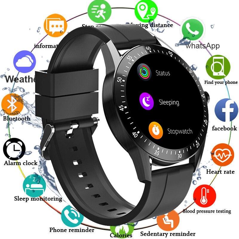 Мужские Смарт-часы 2020 водонепроницаемые фитнес-трекер кровяного давления умные часы женские умные часы спортивные часы для Android IOS