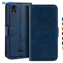 Case For Wiko Rainbow Lite 4G Case Magnetic Wallet Leather Cover For Wiko Rainbow Lite 4G Stand Coqu