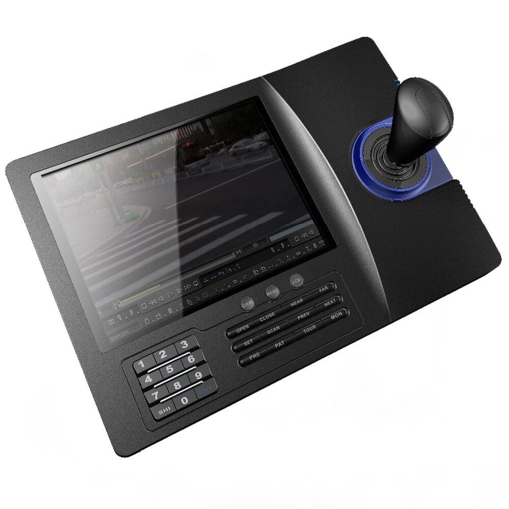 8 zoll LCD Analog RS485 PTZ Tastatur Controller PELCO-D/PLCD Display Für Analog Speed Dome Pan Tilt Kamera CCTV control system