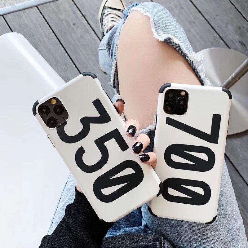 Хит, роскошные брендовые кроссовки, коробка для обуви, 3D силиконовый чехол для apple iphone 11 Pro X XS XR MAX 7 8 plus, защита от падения, 350, чехол для телефона