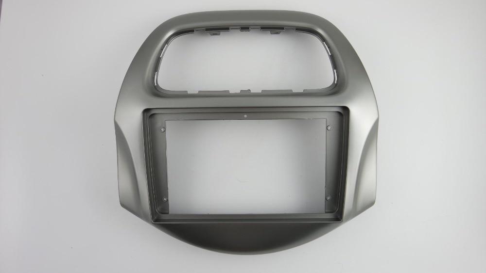 La Radio del coche de la Fascia para 2018 + Daewoo Matiz ; Chevrolet chispa Baic golpeó consola DVD estéreo CD Panel Dash Kit Trim Facia placa frontal