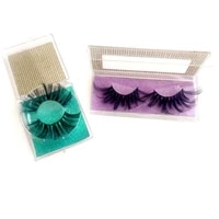 25mm 5d chemical fiber series false eyelashes birthday party graduation beauty products can be wholesale customized boxed set