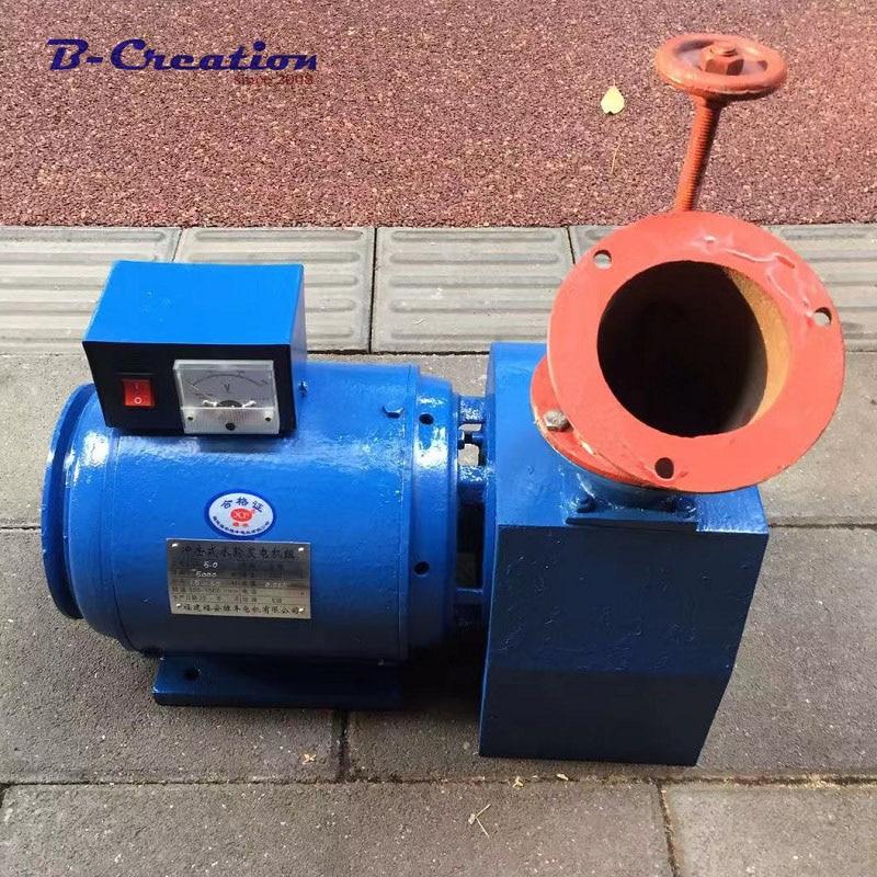 1000w 2000w 3000w 4000w 5000w 0.5KW 110V 220V Hydroelectric Generator Single Phase Low Speed Start Permanent Magnet Generator