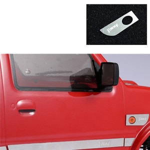 1 Pair Metal Turn Signal Light Cover Lamp Frame Decoration Cover for MST JIMNY RC Car Accessories