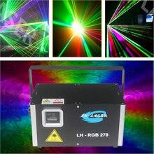 90 V-240 V 5W Veränderbar voll farbe rgb programmierbare laser beleuchtung Mit Kostenloser ishow software und sd karte