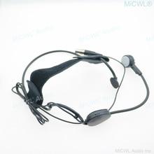 MiCWL ME3 Drahtlose Dynamisches Mikrofon für Shure ULX SLX PGX UT QLX Headset Mikrofone System mini TA4F