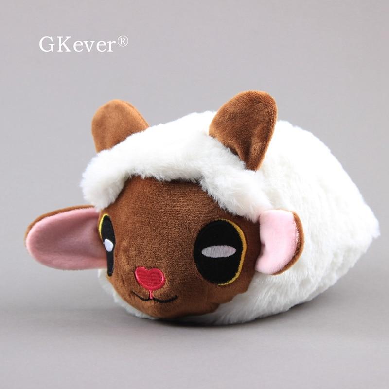 Аниме милые плюшевые игрушки Овцы Wooloo мягкие животные 20*13 см Детские Подарочные игрушки
