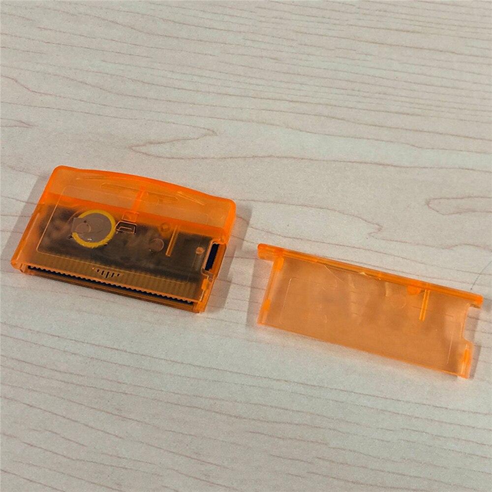 Carcasa para tarjeta EZ FLASH carcasa piel naranja versión limitada para accesorios Nintend GBA