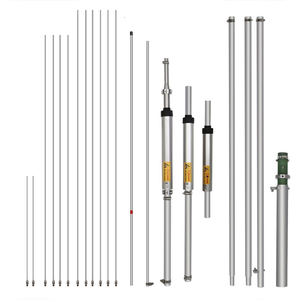 Rechape MA04 antenne de Station de Base omnidirectionnelle étanche 4 HF bande 7/14/21/28MHz antenne à ondes courtes pour émetteur-récepteur Amateur