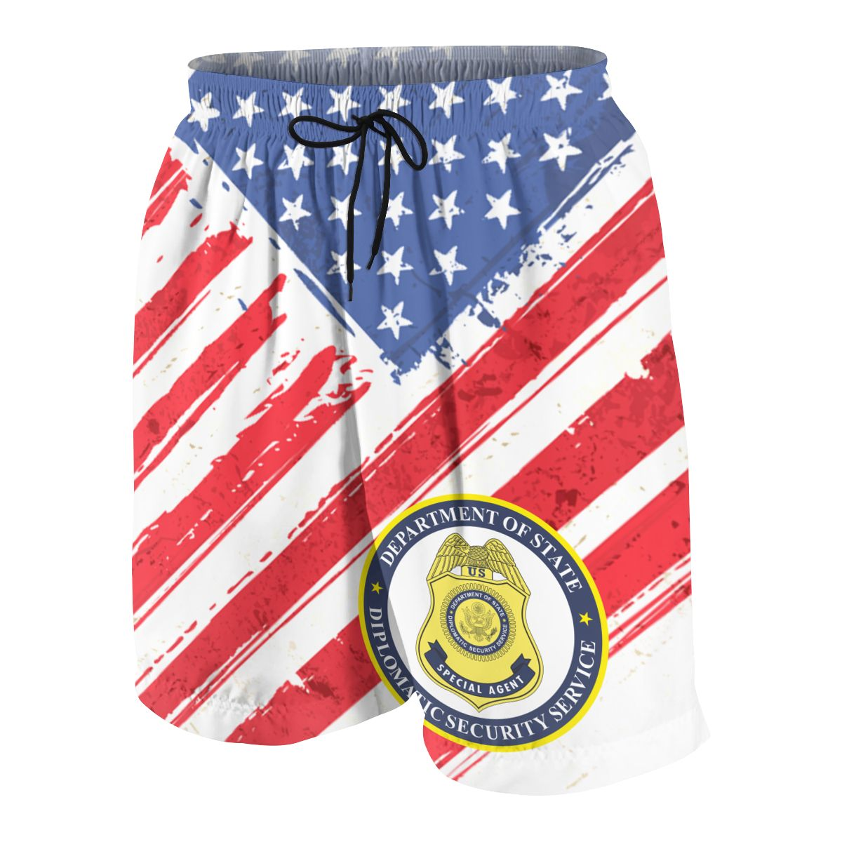 Diplomatic Security Service Youngsters Shorts Joggers Quick-dry Cool Short Pants Casual Beach Sweatpants
