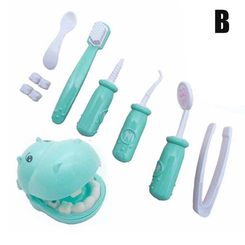 9 шт Игровой Набор доктора для детей ролевые игры стоматолога Медицинский Набор плюшевая игрушка игра для малышей