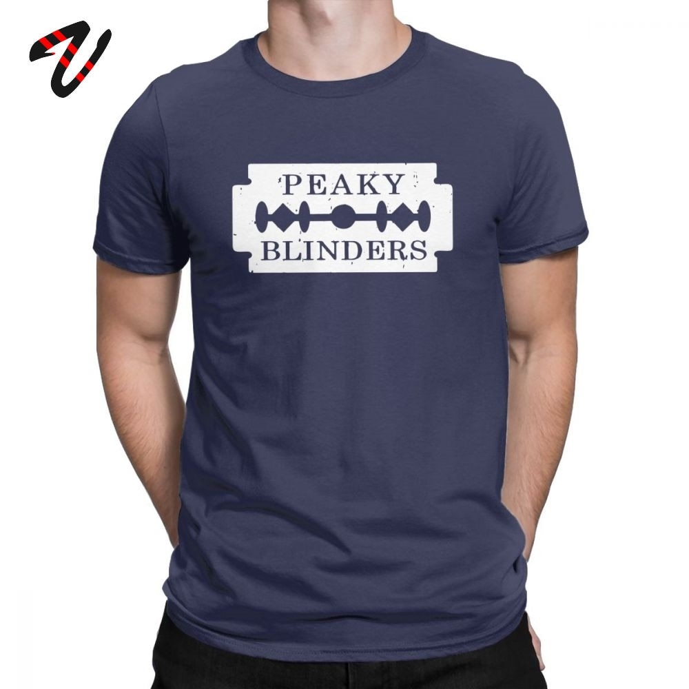 Camiseta de manga corta Peaky Blinders para hombre, camiseta de manga corta de Arthur Thomas Shelby, Camiseta de cuello redondo, ropa de algodón puro, camiseta Swag