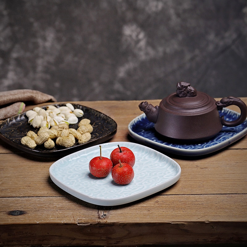 أطباق فاكهه الإبداعية الحديثة شبكة طاولة القهوة صينية للفاكهة المجففة الحلوى والمرطبات وجبة خفيفة طبق صينية مائدة صينية الشاي الصيني
