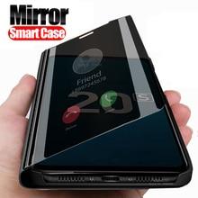 Зеркальный чехол Smart view для huawei honor 20 s MAR-LX1H, 6,15 дюймов, подставка, флип-книжка, чехол для телефона honor 20 s honor 20 s xonor s20, чехол