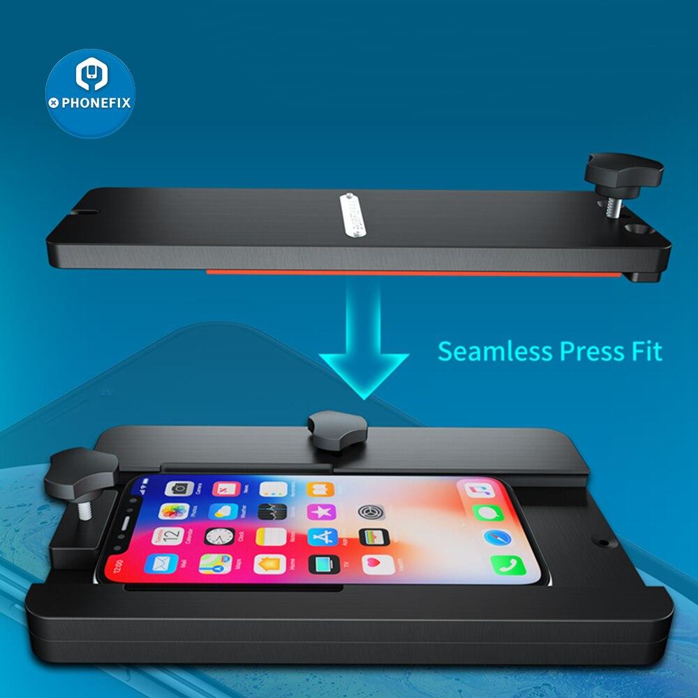 Aixun iFixture FT-08, accesorio de reparación para teléfono móvil, pantalla LCD, ajuste de brecha, cubierta trasera, desmontaje, herramientas de reparación de laminación