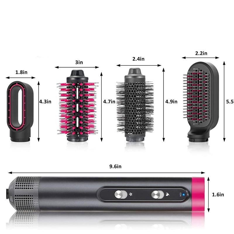 Professional Salon Leafless Hairdryer Anion Temeperature Control Blow Dryer Salon Dryer Hot &Cold Wind Hair Blow Dryer enlarge