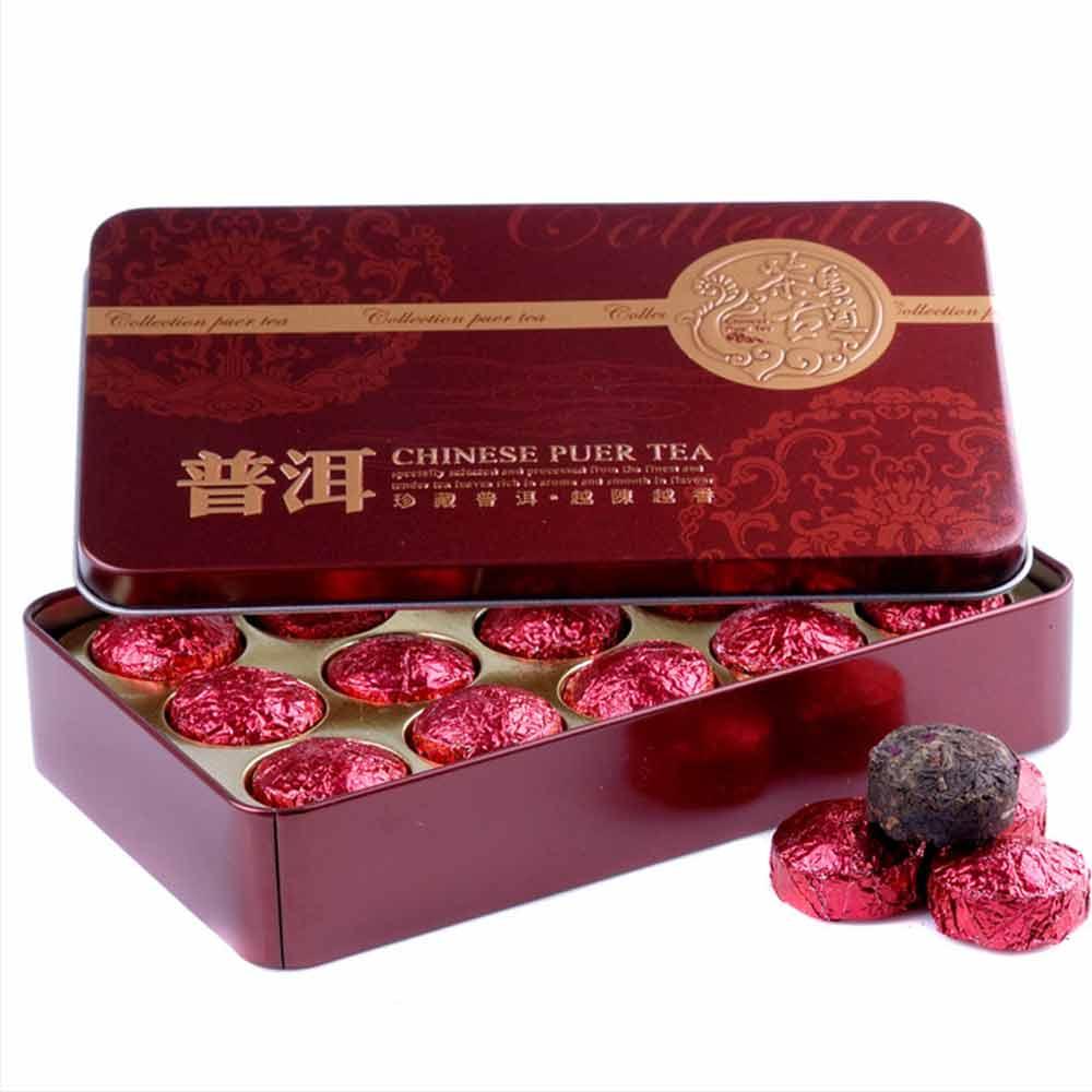 2019 Yr Rose Mini Ripe Pu-erh Tuocha, Yunnan Shu Pu-erh Pu-erh Gift Packing 75g