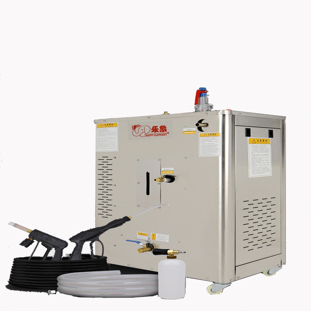 220V 9KW-30KW High-Power Steam Car Washing Machine Automatic Steam Washer High temperature sterilization For Car Wash Shop