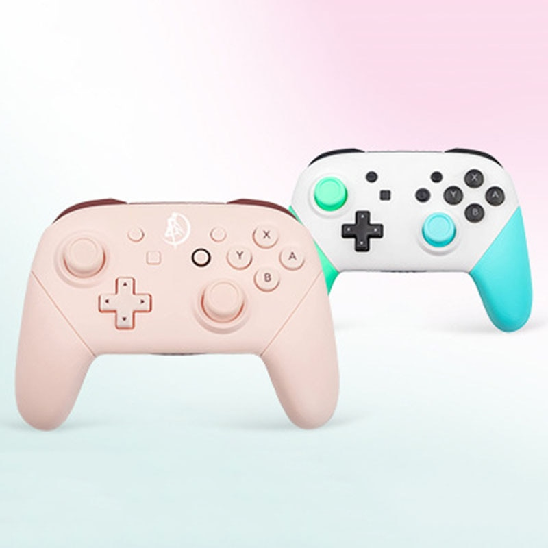 Suitable for Switch Pro Gamepad Wireless Bluetooth HD Vibration Game Console NFC6 Axis Gyroscope Big Battery Game Controller