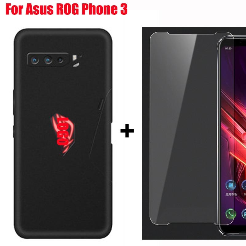 HD Gehärtetem Glas Film Telefon Screen Protector für Asus ROG Telefon 3 phone3 Schutz film mit fall für ASUS ROG 3 ROG3 shell