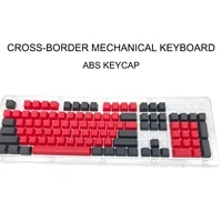 104pcsset double color backlight keycap for cherry mx mechanical keyboard abs key caps gaming keyboard keycap