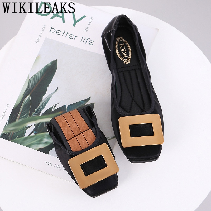 Zapatos Vintage de cuero, mocasines de mujer, zapatos planos cómodos, zapatos de mujer de estilo coreano, zapatos de mujer de gran tamaño, Chaussures Femme Bona