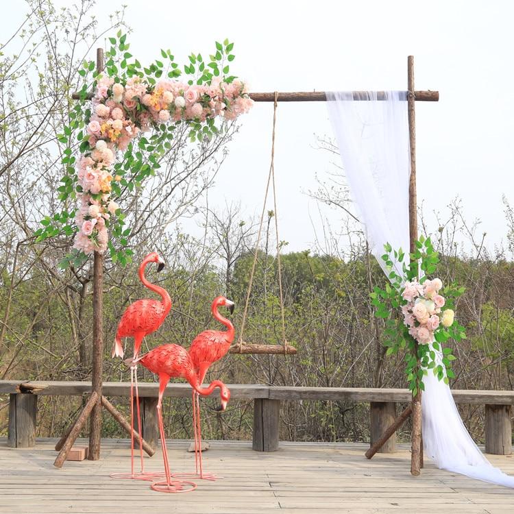 Al aire libre rústico boda artificial Pared de flores boda arco puerta fondo para decoración arreglo floral centro de mesa hilera de flores