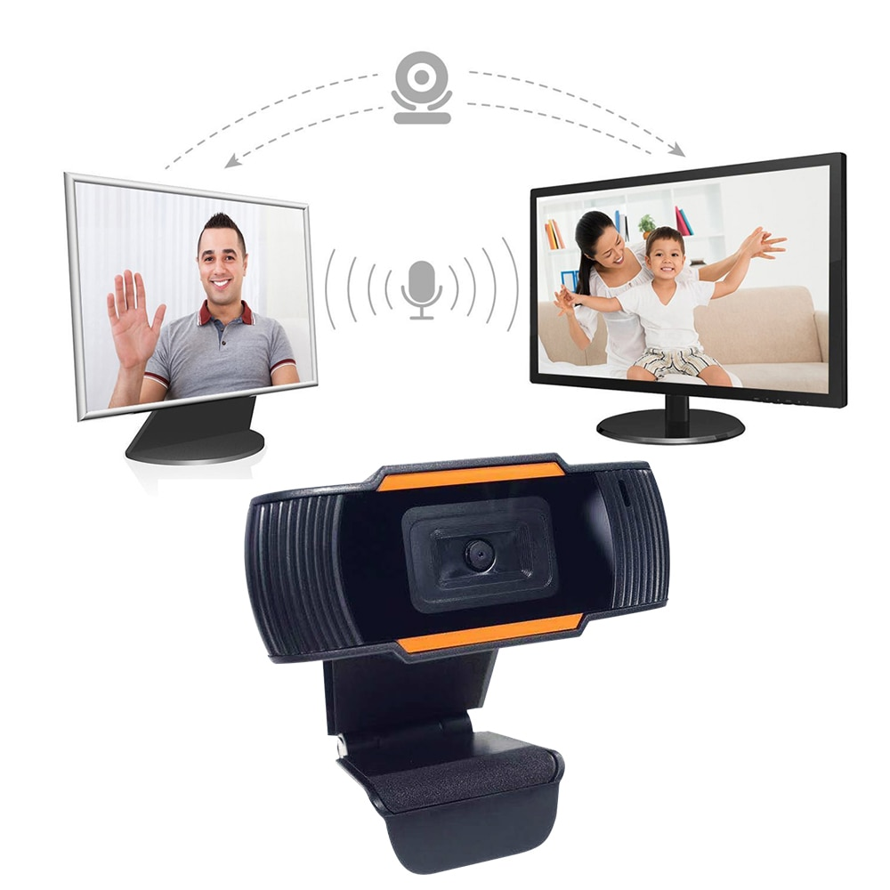 140 grados ajustable 720P USB Webcam Full HD Video Gamer cámara para portátil ordenador Web Cam micrófono incorporado