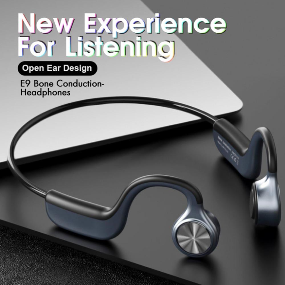 جديد E9 Z8pro التوصيل العظام سماعات لاسلكية بلوتوث 5.0 سماعة الرياضة في الهواء الطلق سماعة مع ميكروفون سماعات يدوي