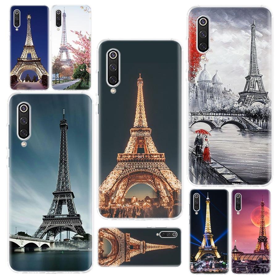 Amo Londres Paris França torre Eiffel Caso de Telefone Para Redmi 4 4A 4X 5 5A 6 6A 7 Y3 7A 8 K20 K30 S2 Y3 Nota 4 5 6 7 8 5 Plus Telefone