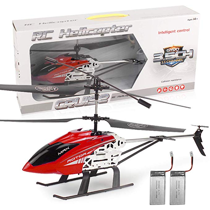2.4GHz GLORY168 20Inch Large Aircraft Remote Control Helicopter with 3.5CH Alloy Gyro Stabilizer and Multi-Protection RC DRONE