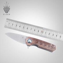 Kizer katlanır bıçak V2541 Lieb tarafından tasarlanan Azo 2.4 inç bıçak bıçak taktik bıçak açık kamp için