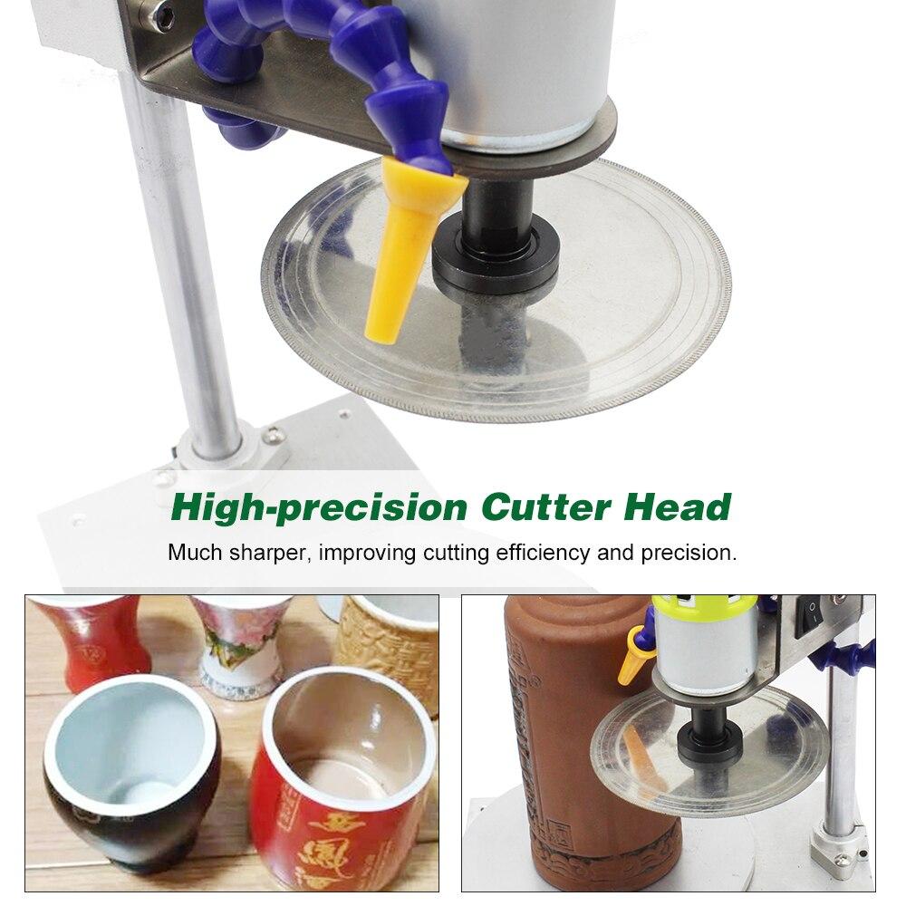 Cortador de botellas, máquina cortadora de botellas, herramienta de corte de botellas de vidrio, soporte de pluma para maceta DIY, cortador de vidrio ornamental