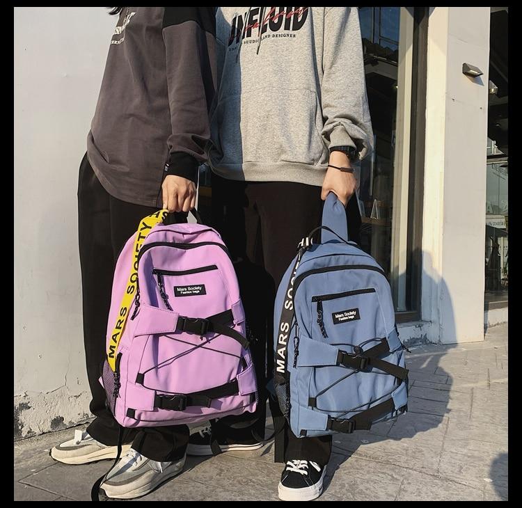 BB1704 2021 новый мужской и женский корейский модный тренд дикий рюкзак для колледжа