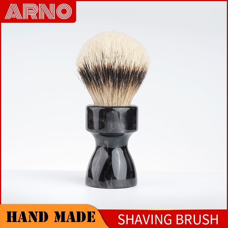 ARNOBRUSH-Shaving brush handle with badger knot-Camino(smoke purple)