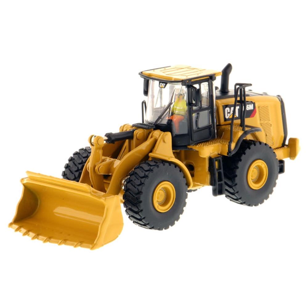 Diecast Meister #85948 1/87 (HO) skala Raupe 966M Radlader Fahrzeug KATZE Engineering Lkw Modell Autos Geschenk Spielzeug