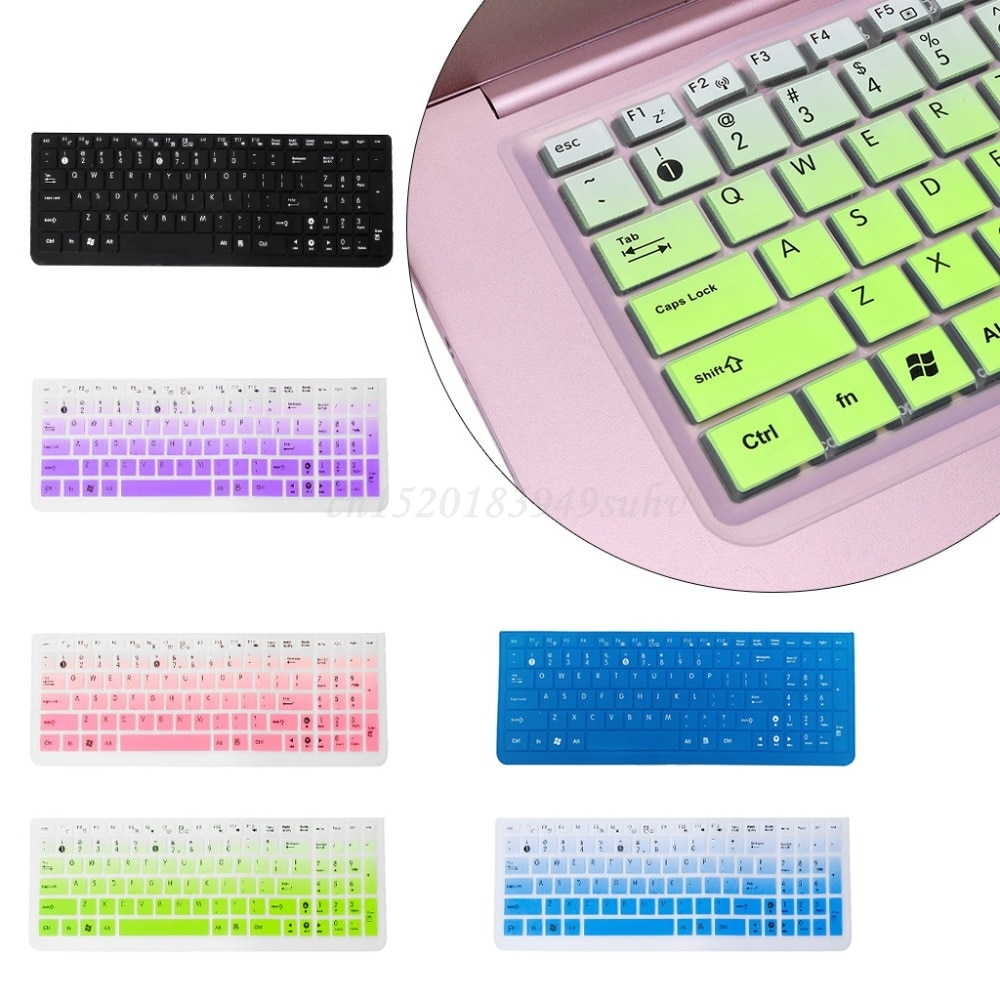 2020 Waterproof Silicone Keyboard Protector Skin Cover Keypad Film Skin Protection dust proof film for Asus K50 Laptop Accessory