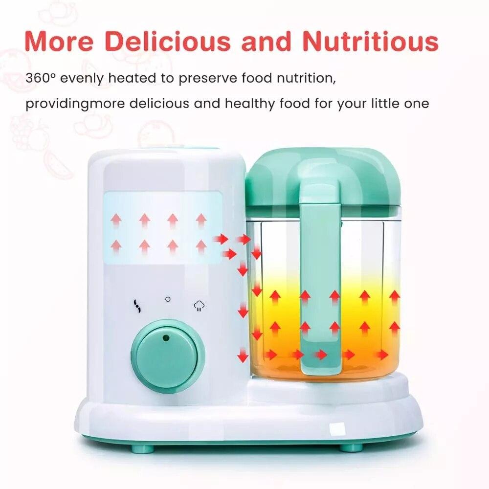 2020 New Baby Feeding Food Maker Supplement Newbron Baby Food Cooking Blenders Steamer Processor Infant Fruit Vegetable Maker enlarge