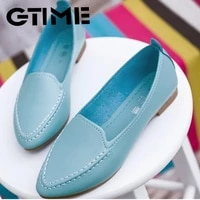 2020 new arrival soft single shoes women round toe flats fashion womens flats ladies brand shoes women loafers shoes sneakers