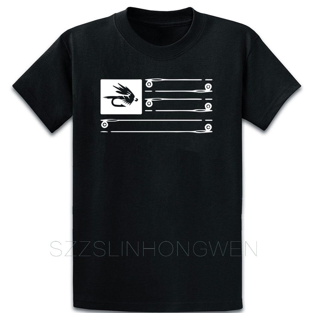 Mosca pesca Tee T Shirt Cool Euro tamaño sobre tamaño S-5XL algodón Streetwear Humor Impresión de verano loco camisa