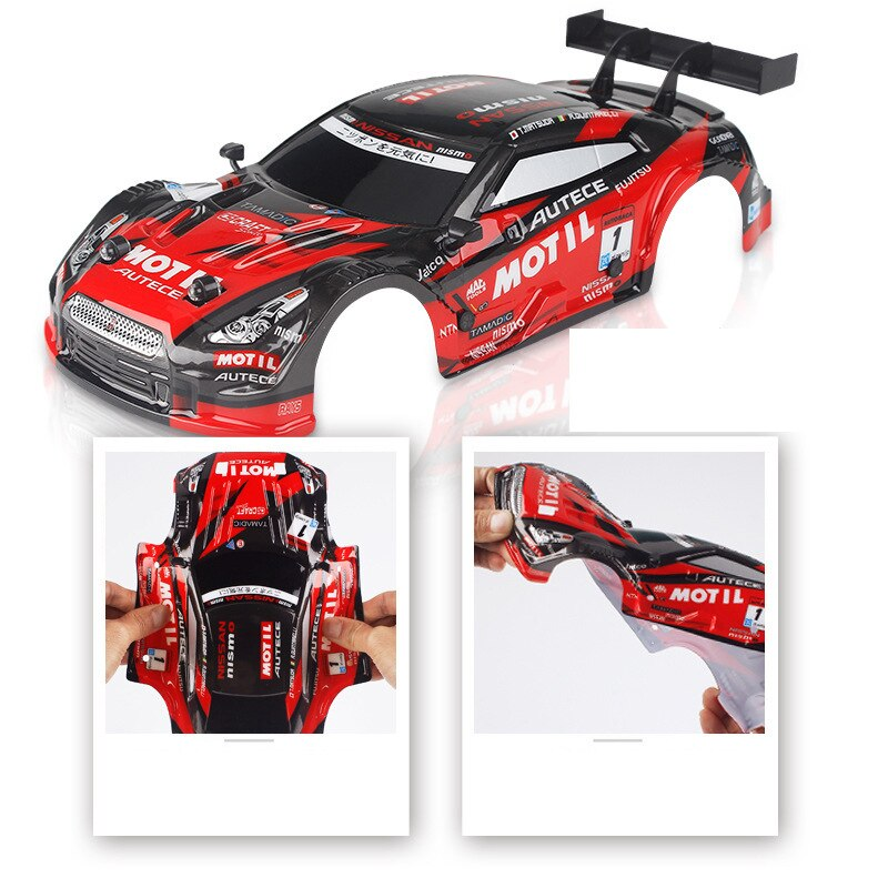 1:18 30km/h RC Drift Racing Car 4WD 2.4G High Speed GTR Remote Control Max 50m Control Distance Electronic Hobby Toys car gifts enlarge
