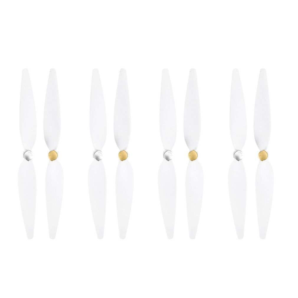 4 Pairs 10inch Propeller for RC  4K Drone for  mi Drone 4k Pervane White Pervane Drone Blade Propeller Accessories