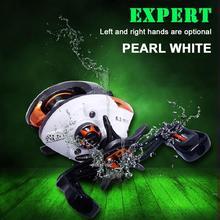 Fishing Accessories Baitcasting Reel 12+1 Ball Bearings 6.3:1 Gear Ratio Magnetic Braking System Vissen Spoel Links/Rechts Wiele