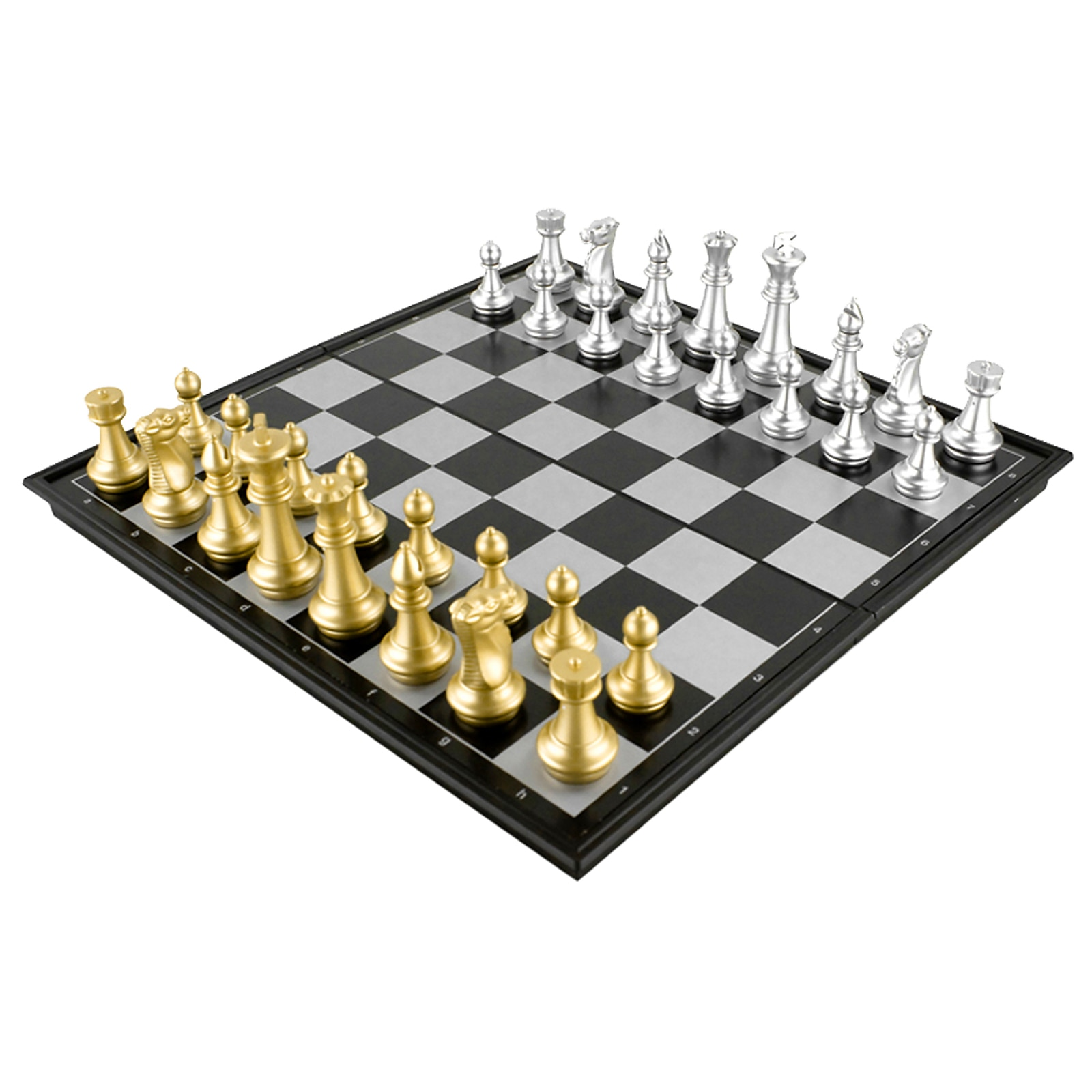 Фото - Game Chess Set Folding Plastic Chessboard Travel Lightweight Board Educational Toys Parlor Game Outdoor Parent-Child Toy 2021 novelty kids bean bag toss game toys outdoor dart board game game toy set fun parent child interaction educational game