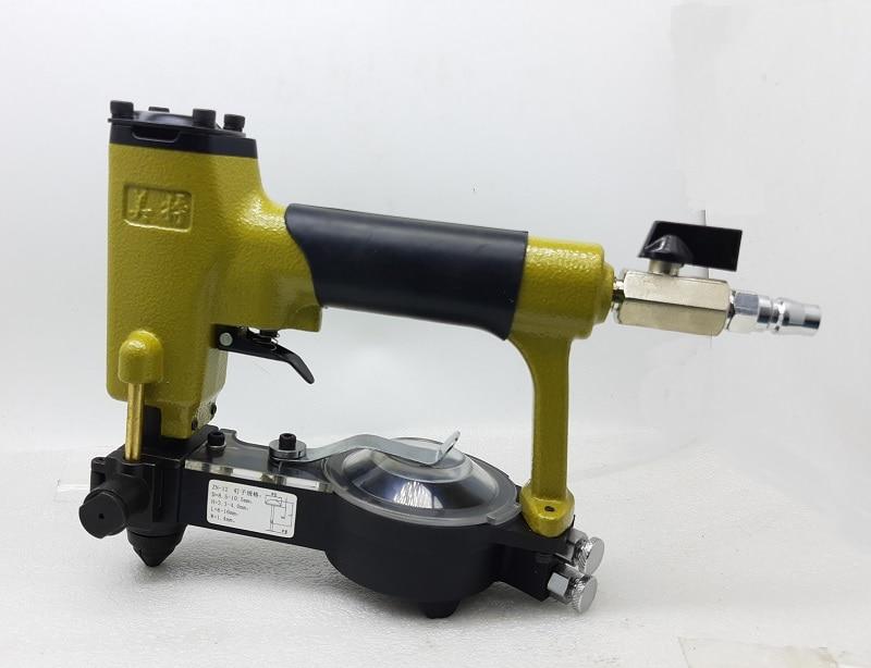 دبابيس الهوائية دباسة التلقائي تغذية الهواء بائع المسامير بندقية لصنع أريكة/الأثاث ZN-12