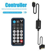 JONSBO 5V 3Pin AURA RGB contrôleur SATA alimentation mémoire lumière rayure télécommande pour PC boîtier éclairage mémoire refroidissement gilet