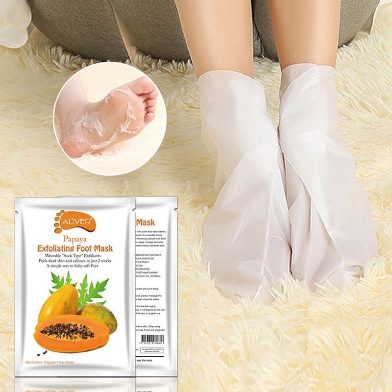 8 видов отшелушивающих масок для ног; носки для педикюра; забота о здоровье кожи; пленка для ног и омертвевшей кожи