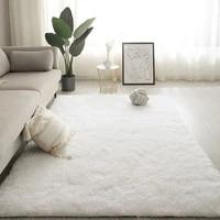 all match ins popular fluffy carpet rugs for bedroomliving room rectangle large size plush anti slip soft floor mat